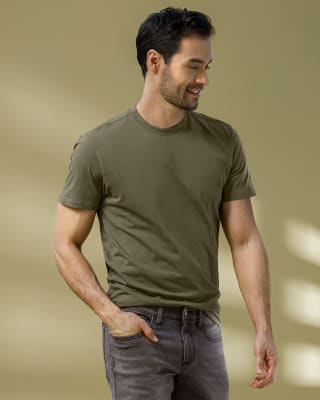 paquete x2 camisetas silueta semiajustada para hombre-981- Surtido-MainImage