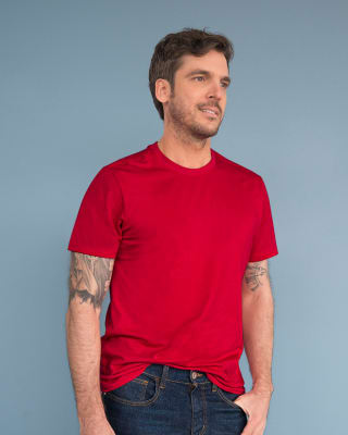 paquete x2 camisetas silueta semiajustada para hombre-982- Surtido Rojo-MainImage