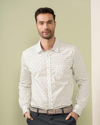 camisa manga larga con punos en contraste-132- Estampado-MainImage