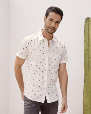 camisa manga corta estampado continuo para hombres-145- Estampado-MainImage