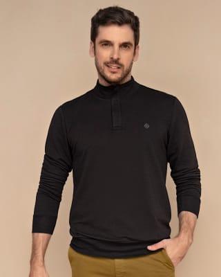 buzo manga larga con cuello alto para hombre-700- Black-MainImage