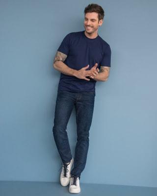 jean oscuro skinny para hombre-457- Azul Oscuro-MainImage