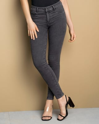 skinny jeans with bum lifting effect-700- Black-MainImage
