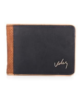 billetera masculina de cuero - velez-024- Azul-MainImage