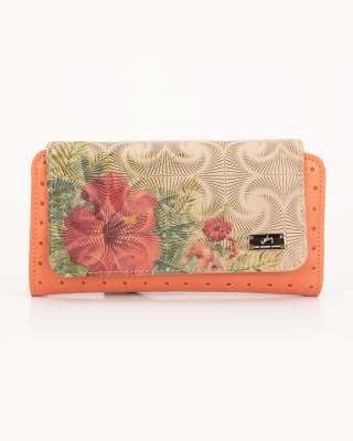 billetera dacnis femenina de cuero - velez-279- Coral-MainImage