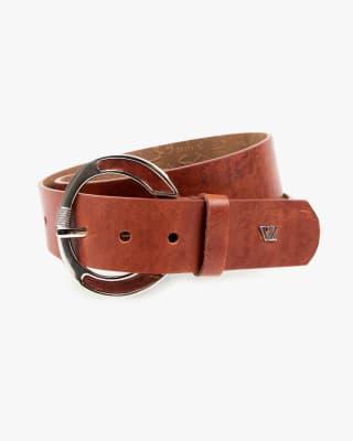 cinturon unifaz femenino hebilla retro - velez-221- Terracota medio-MainImage