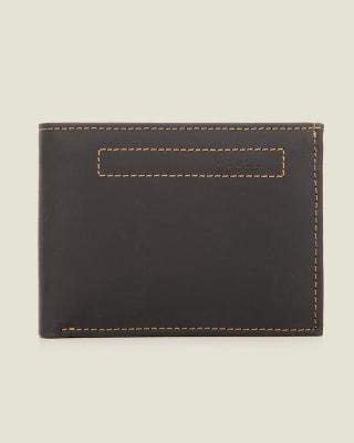 billetera masculina con diseno modular con compartimientos al interior - velez-700- Black-MainImage