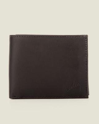 billetera masculina en contraste con color interno - velez-700- Black-MainImage