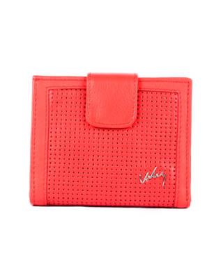 billetera femenina con miniperforados-302- Rojo-MainImage