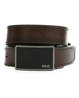 cinturon doble faz masculino monet - velez-835- Caf Oscuro-MainImage