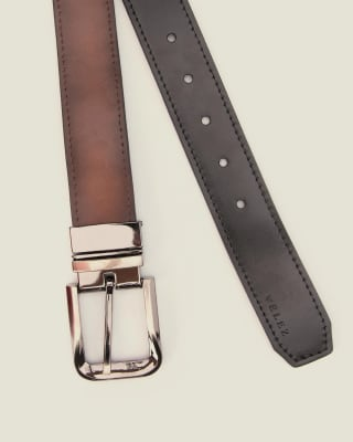 cinturon doble faz masculino - velez-801- Café-MainImage