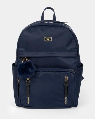 bolso femenino tipo morral - velez-547- Azul-MainImage
