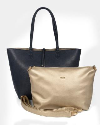 bolso doble faz femenino - nappa-547- Azul-MainImage