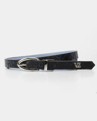 cinturon doble faz femenino - velez-700- Negro-MainImage