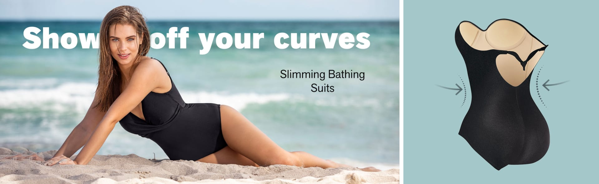 Slimming Bathing Suits - Leonisa