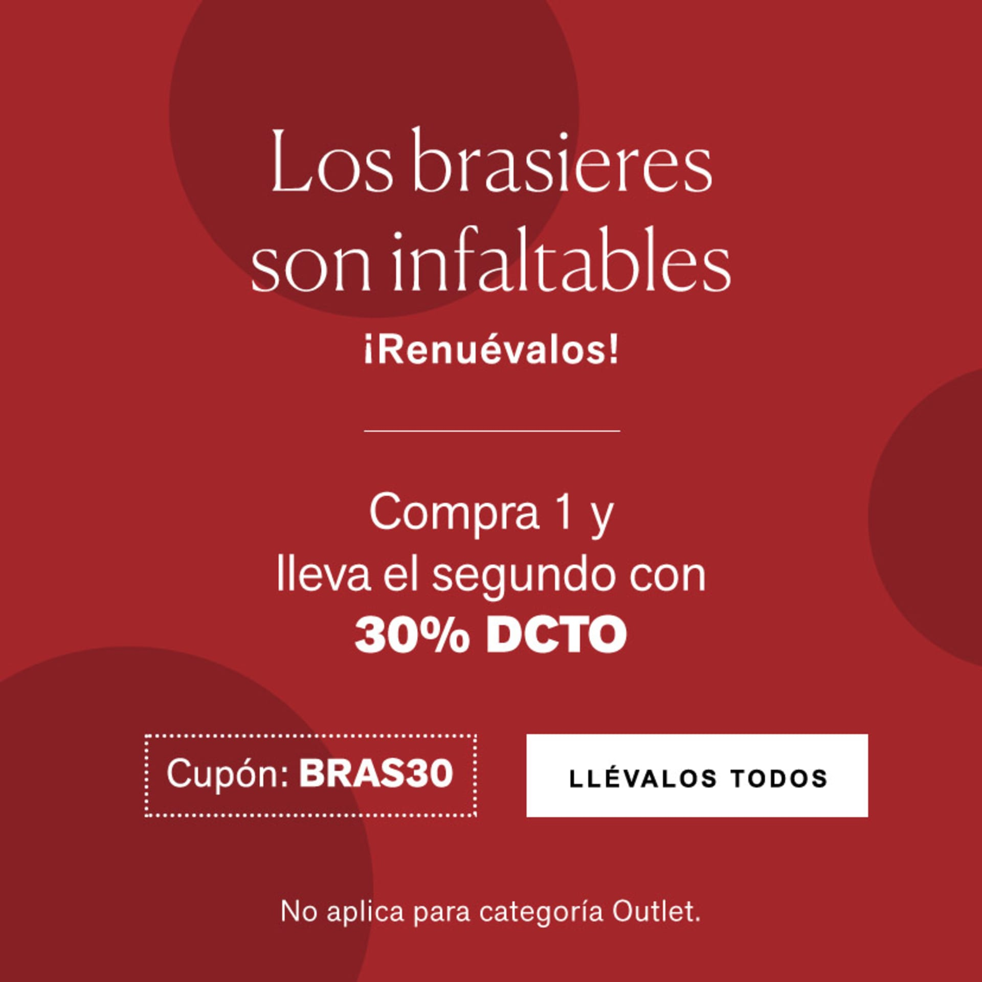 Oferta Brasieres Leonisa