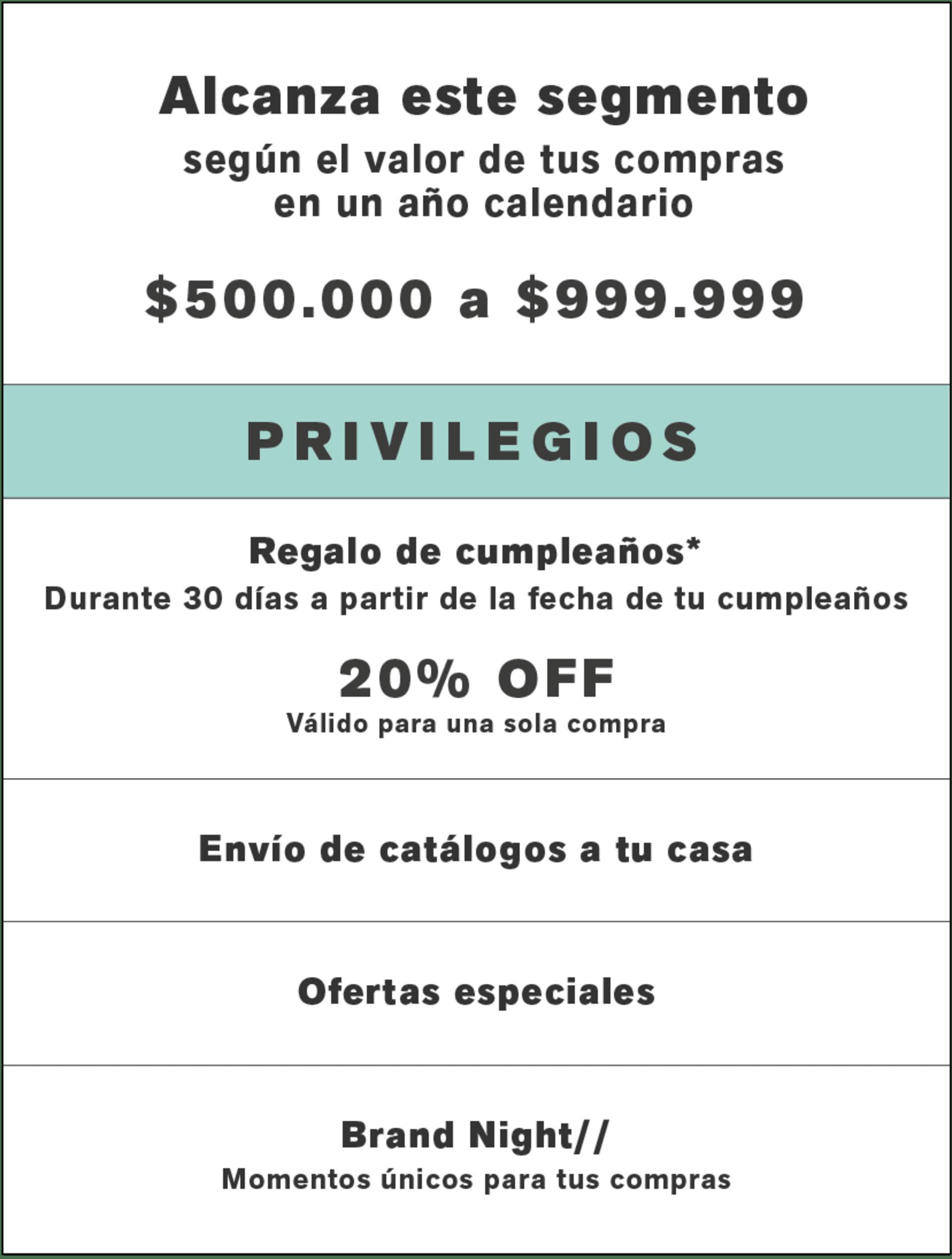 Plata - Privilegios Leonisa