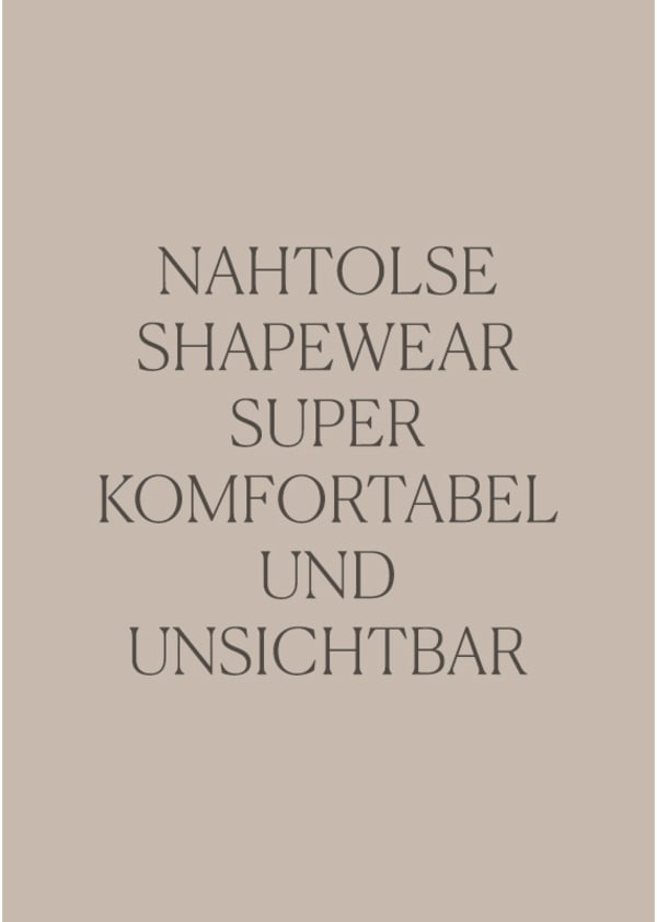Invisible Seamless Shapers - Leonisa