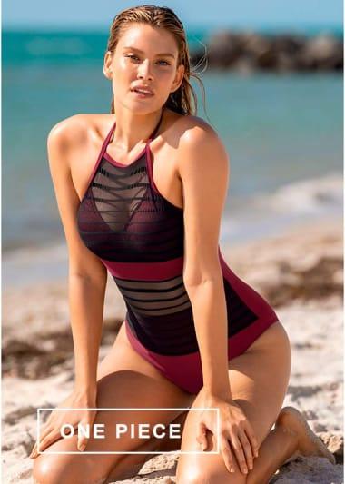 One Piece Bathing Suits & Monokinis - Leonisa