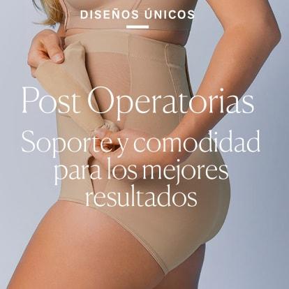 Las mejoras Fajas Post Operatorias - Leonisa