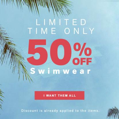 ALL Swimwear 50% OFF