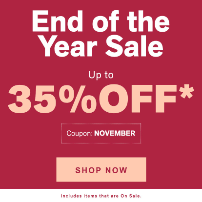 End of Year Sale - Up to 35% OFF