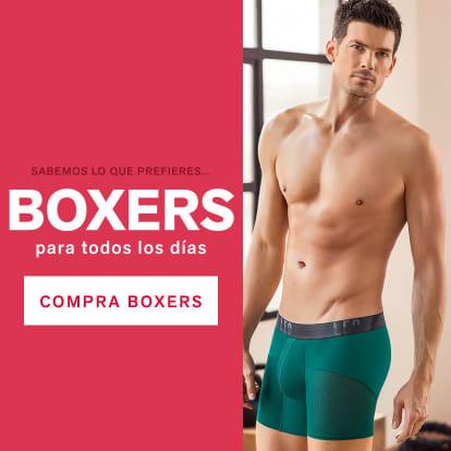 Boxers para uso diario