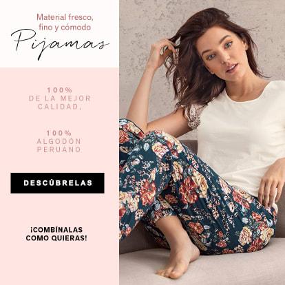 Pijamas de algodón peruano