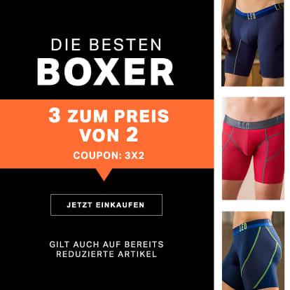 3 Boxer Shorts zum Preis von 2
