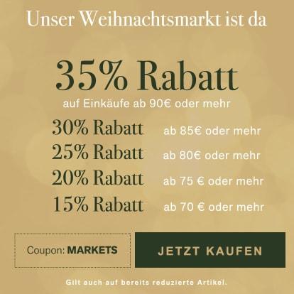 Bis zu 35% Rabatt auf unserem Weihnachtsmarkt