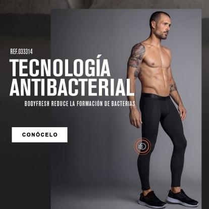 Boxer largo antibacterial