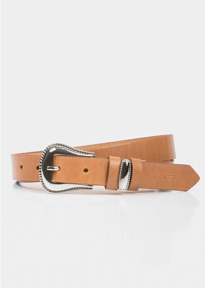Cinturón unifaz femenino Crisia Velez