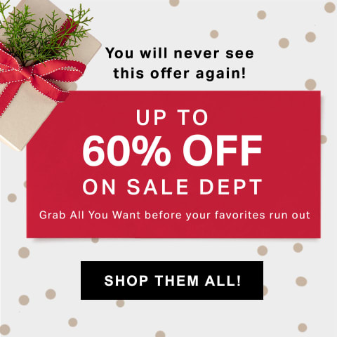 Up to 60%OFF On Sale