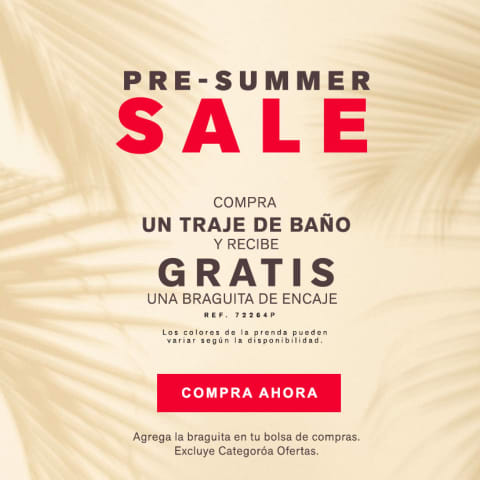 Pre-Summer Sale