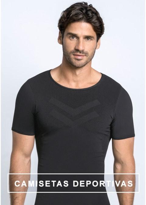 Camisetas deportivas de compresion y reducción