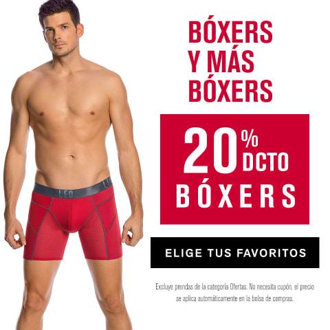 Boxers en oferta