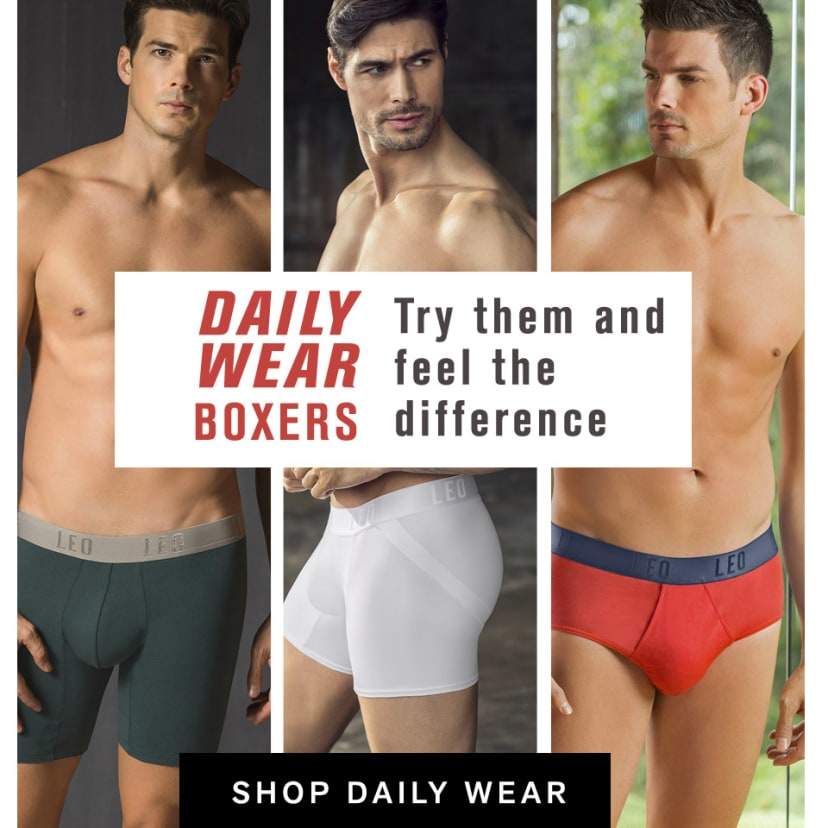 af8b3c6136 Shop Men s Underwear   Shapewear. Official Site LEO