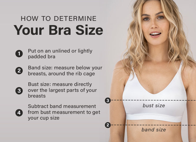 how to determine your bra size