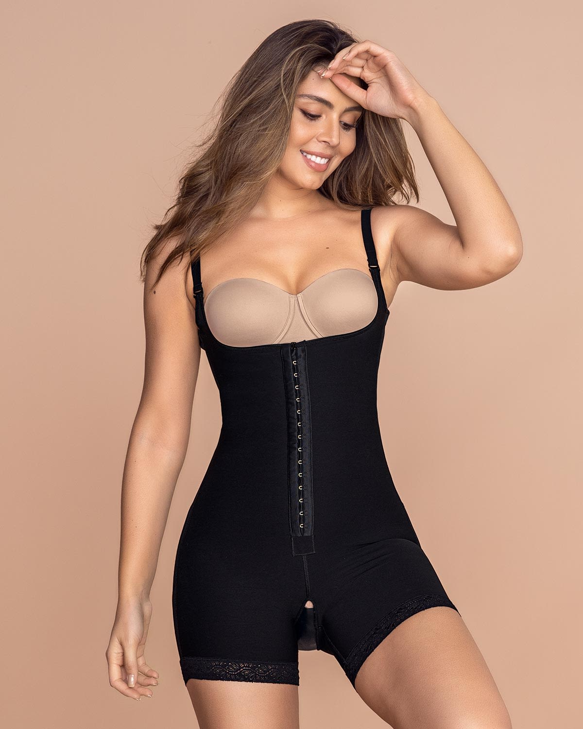 Firm Compression Boyshort Body Shaper - Doctor Recommended