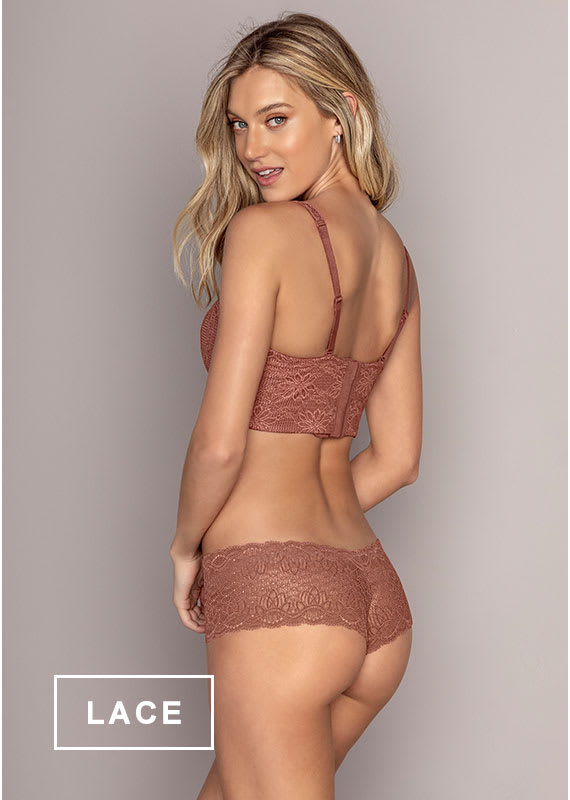 Lace Panties in SmartLace® - Leonisa