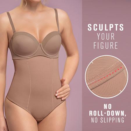 Strapless Sculpting Thong Bottom Body Shaper
