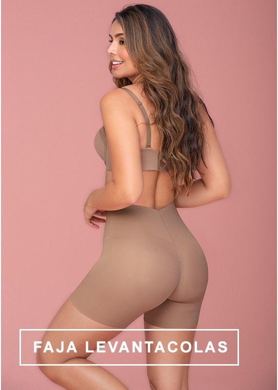 Panty Faja Levantacolas con Almohadillas Extraíbles - Leonisa