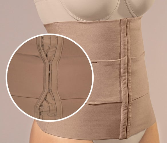 3-Belt Custom Waist Cincher with Lumbar Support