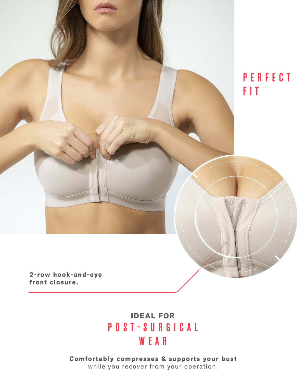 63037b68d Back Support Posture Corrector Wireless Bra - Multi Functional