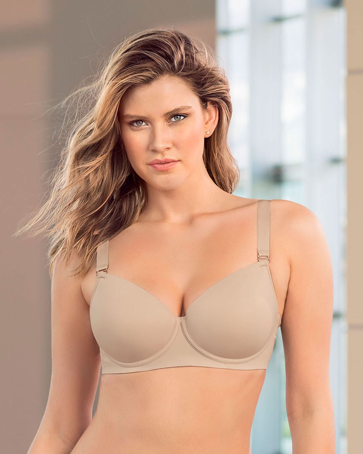 light support perfect fit underwire bra--MainImage