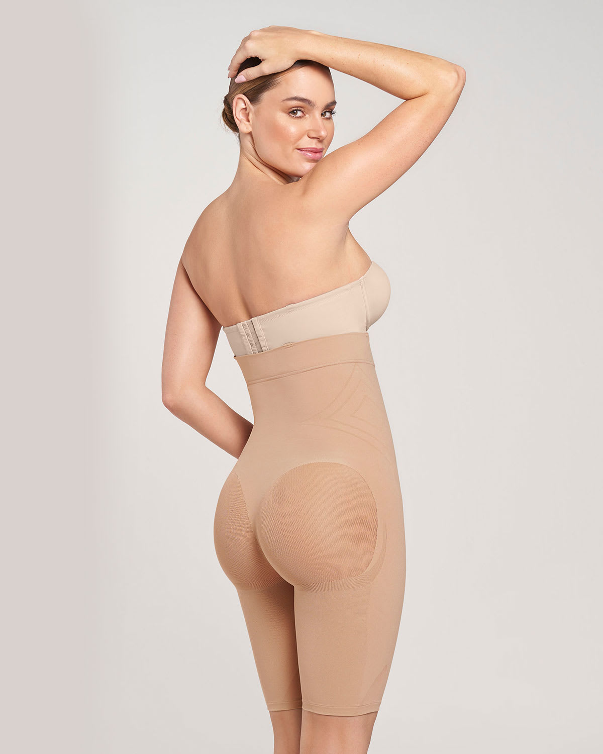 de81a2866 Seamless High Waist Shapewear with Thigh Compression