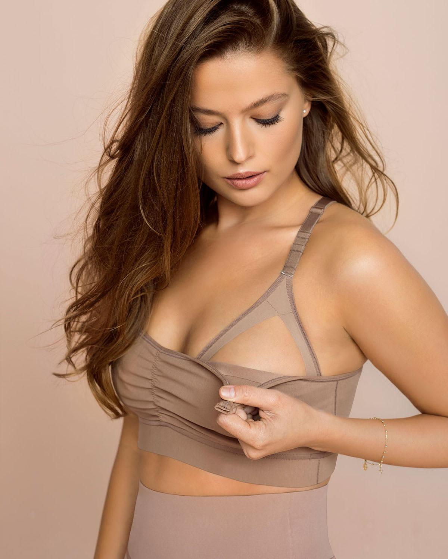 super comfy wireless back support nursing bra--MainImage
