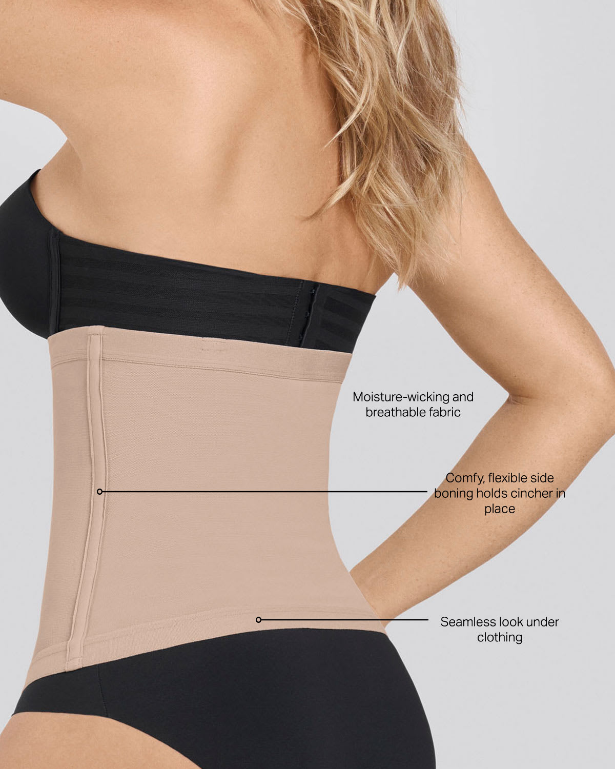 large assortment half off unparalleled High-Waisted Firm Compression Step-In Waist Cincher | Leonisa