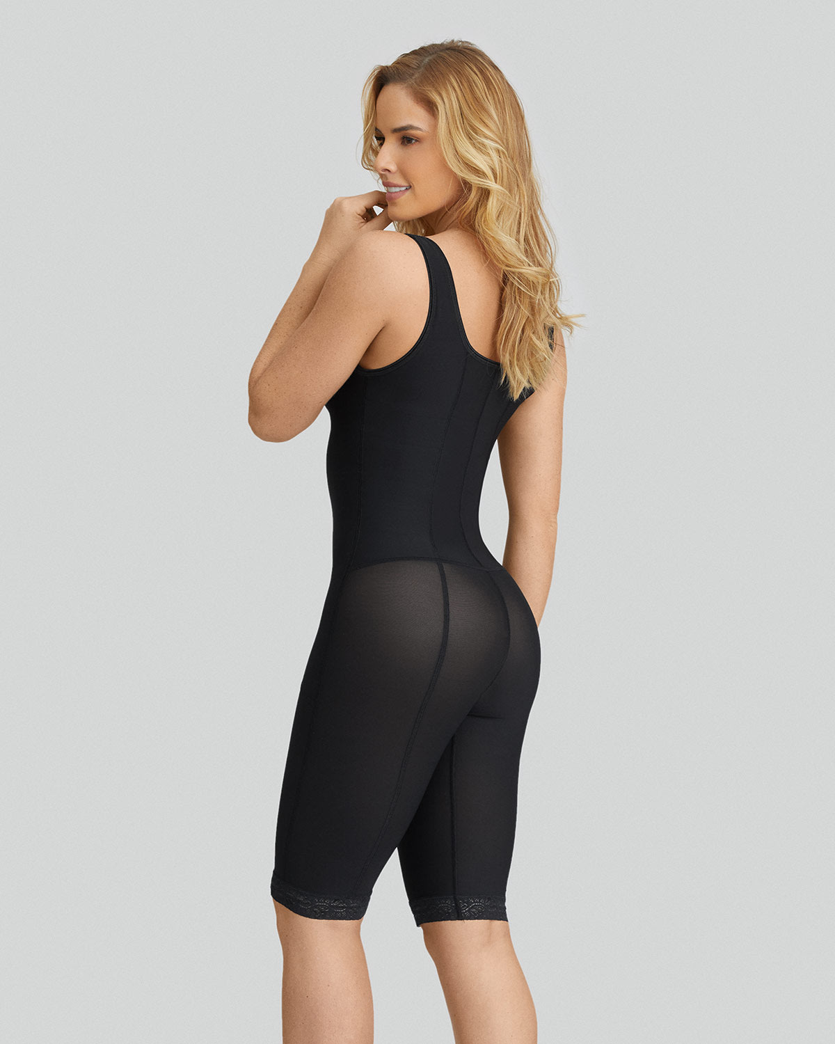 ab5020d35d5 Slimming braless body shaper with thighs slimmer
