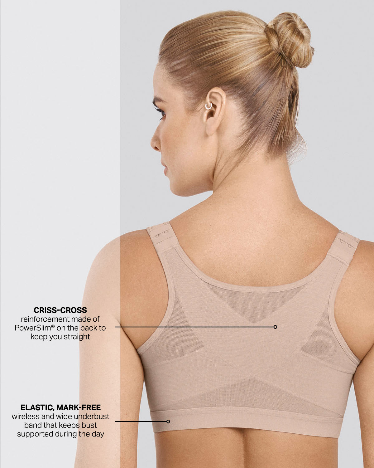 6f7111dd09e 3rd Generation Doctor Recommended Post-Surgical Wireless Bra with Front  Closure